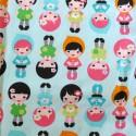 Baumwollstoff Puppen