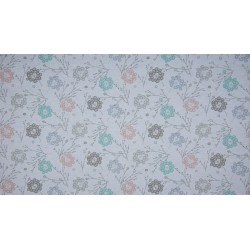 Organic melange French Terry Print