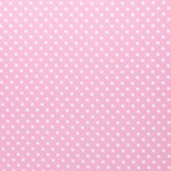 Baumwollstoff Punkte 2 mm